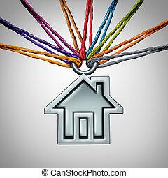 Community House - Community house concept and neighborhood...