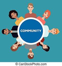 community people society social