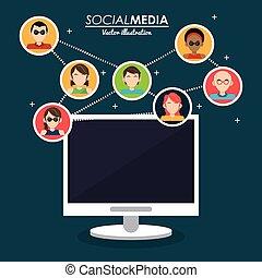 community social media computer system