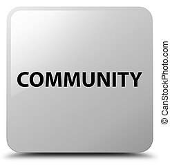 Community white square button