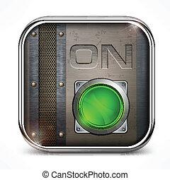 commutateur, bouton