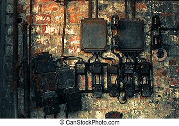 commutateur mur, industriel, électrique