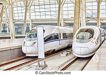 comodo, beijing., velocità, 23, ferrovie, convenienza, 2015...