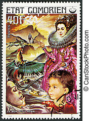 COMORES - 1976: shows Good Little Henry, series Fairy Tales