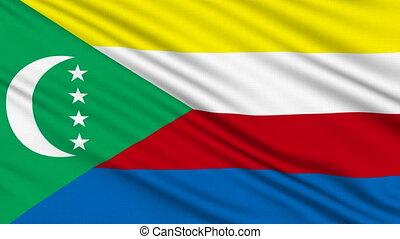 Comoros Flag.