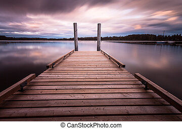 Comox lake Vancouver island - Comox Lake is a freshwater...