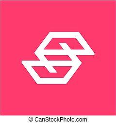compañía, ep., pe., eg, logotipo, psp, ese, geométrico,...