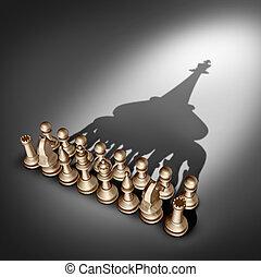 compañía, liderazgo