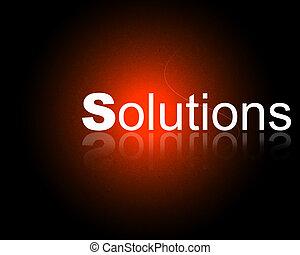 compañía, soluciones