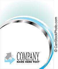 compañía, tarjeta comercial
