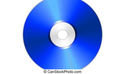 compact, coloré, cd, disque, blu, dvd