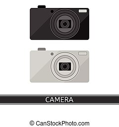 Compact Digital Camera Isolated