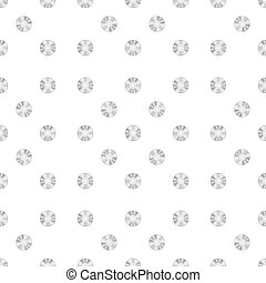 Compact Disc Seamless Pattern