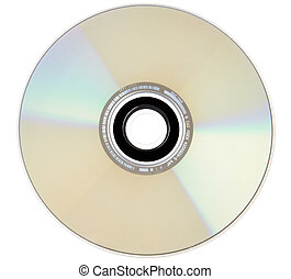 Compact Disc - The reflective side of a compact disc