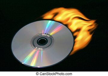 compact disc, urente