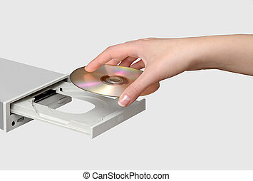 Compact disk drive
