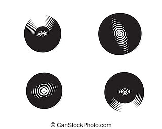 Compact disks - vector Compact disks