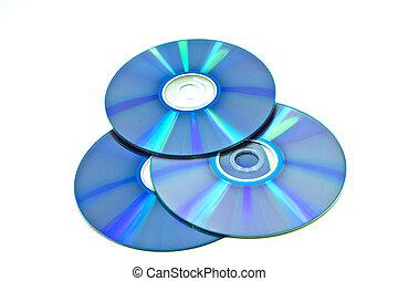 compact disks - three compact disks