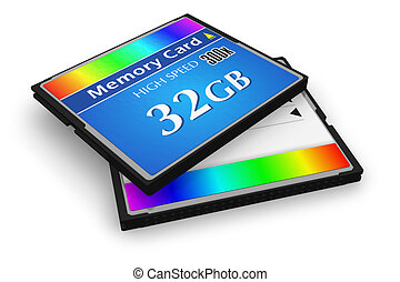 CompactFlash memory cards