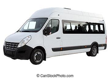 compacto, minibus.
