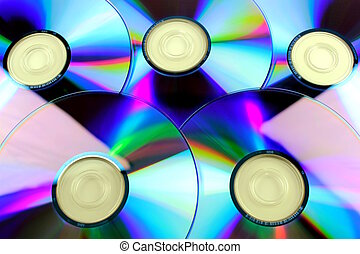 compacto, rom, cd, cd, disco, dvd