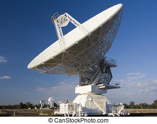 compacto, serie, telescopio