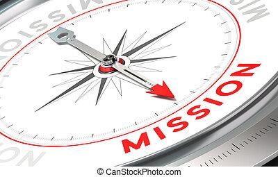 compagnie, déclaration, mission