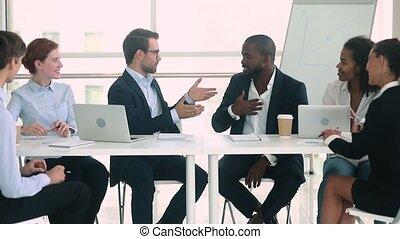 Companies representatives reach agreement leaders...
