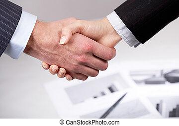 Companions? handshake