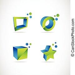 Company 3d logo