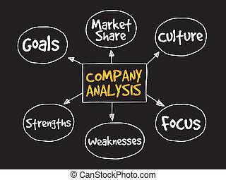 Company analysis mind map