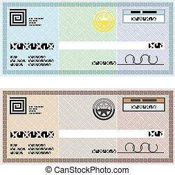 Company Check Gift Voucher Bonus Check