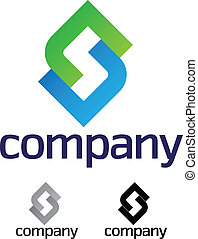 Company design element - A very modern, fresh and trendy...