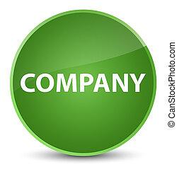 Company elegant soft green round button