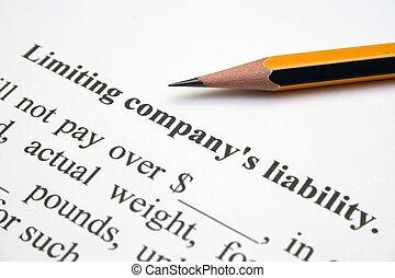 Company liability