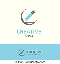 Company logo and typography with elegent design vector