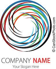 Company Logo Design Circle Arc - Vector image for various...