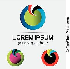 Company Logo Design, Vector, Circle
