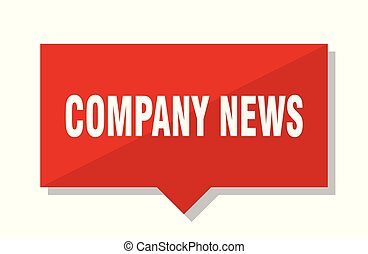 company news red tag