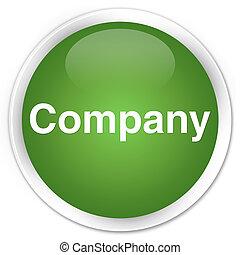 Company premium soft green round button