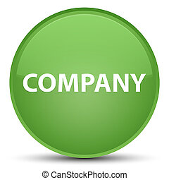 Company special soft green round button