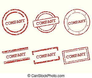 Company stamps