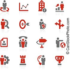 Company Strategy // Redico Series - Vector icons for your...