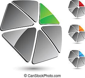 Company symbol. - Abstract company symbol. Vector ...