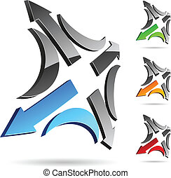 Company symbol. - Abstract company symbol. Vector ...