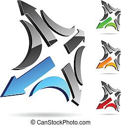 Company symbol. - Abstract company symbol. Vector...