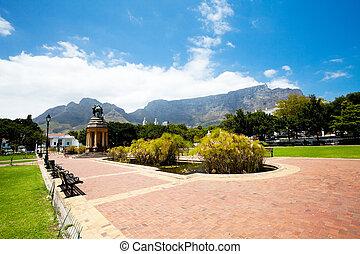 company's, jardin, cap, afrique sud