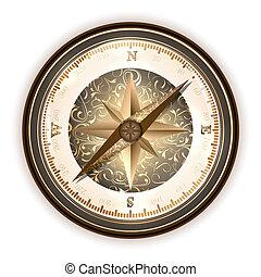 compas antique, vinatge