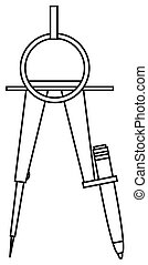 compass., 図画