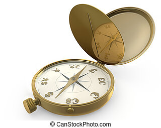 Compass and currency